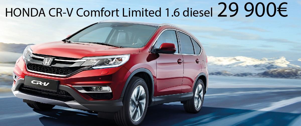 CR-V Comfort Limited 1.6 diesel