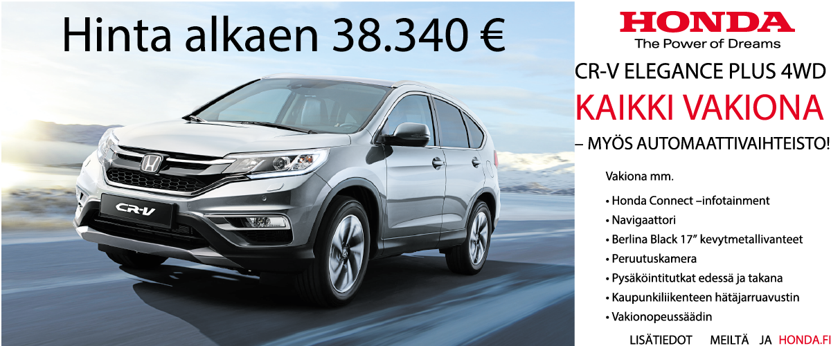 CR-V Elegance Plus AT