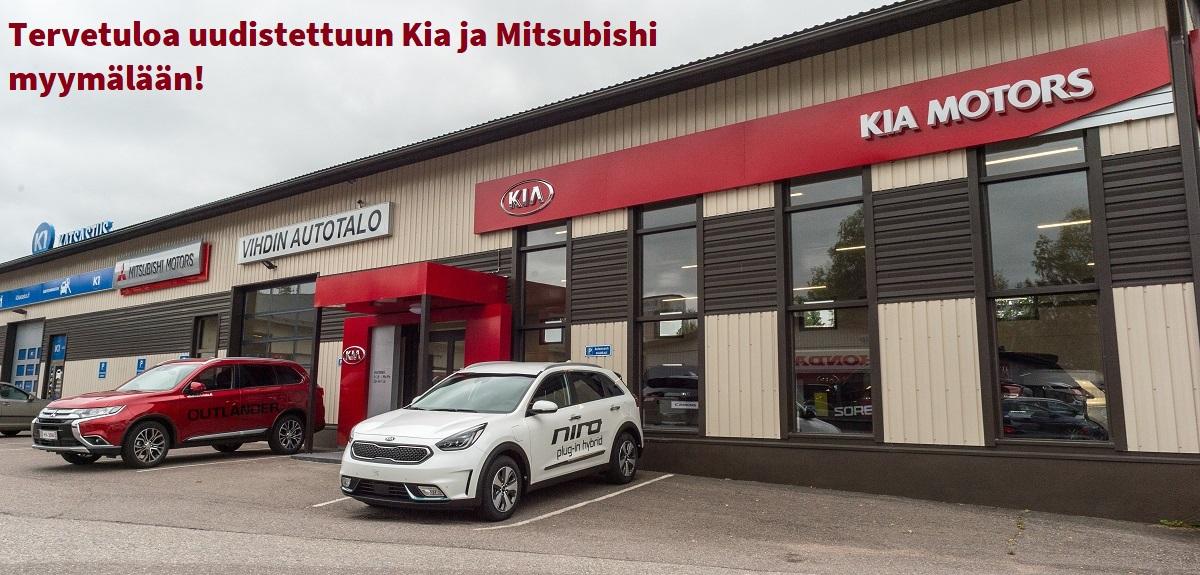 Kia Mitsubishi myymälä
