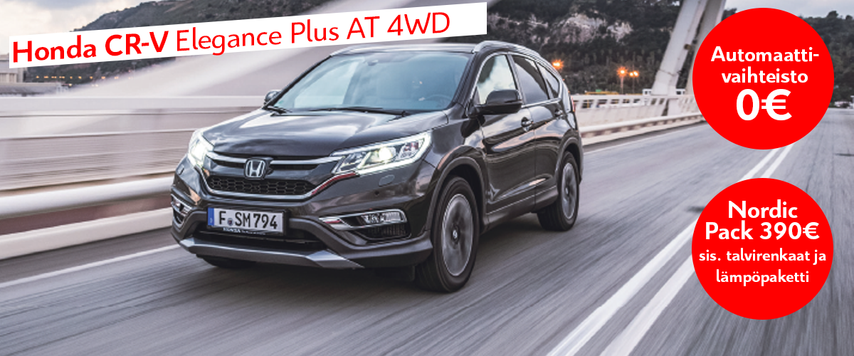 CRV Elegance Plus AT